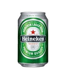Heineken lata 330 cc