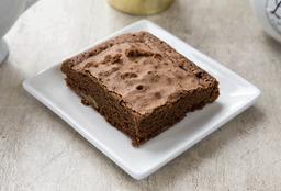 Brownie con trozos de nueces
