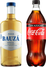 Promo Bauza 1L + Coca-Cola 1.5L Variedades