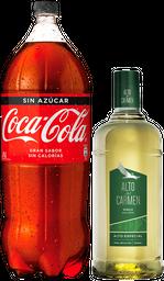 Promo Pisco Alto del Carmen 1L + Coca Cola 3L