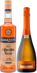 Ramazzotti Rosato +Espumante Undurraga Brut