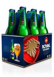 Cerveza Royal Guard Long Neck 355mL x6 Pack Botella