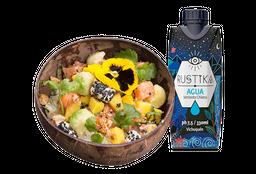 Mango Maui + Agua Mineral Rustika