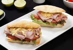 Sandwich Jamon Pierna