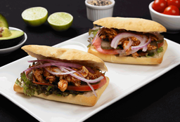 Sandwich Pollo Barbecue