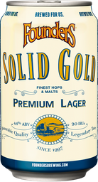 Founders Brewing Solid Gold Lata
