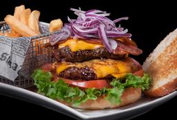 Doble Cheddar Burger