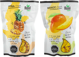 Pack 2 Real Chips Piña Y 2 Real Chips Mango