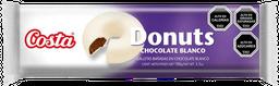 Galleta Donuts  Costa Chocolate Blanco 100G