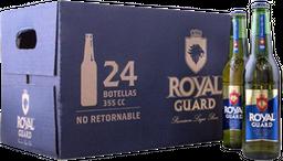 Cerveza Royal Guard Caja 24 x 355cc