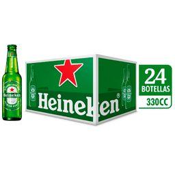 Cerveza Heineken Caja 24 x 330cc