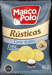 Papas Fritas Rústicas Corte Rejilla Marco Polo 185 g