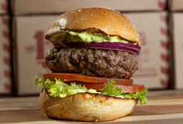 The Fletch's Classic Burger