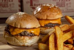 Combo 2 Kids Burgers + Papa Grande