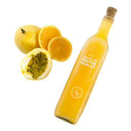 Agua de fruta Maracuyá, Tilo, Naranja