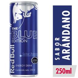 Red Bull Blue Edition Bebida Energetica 250cc