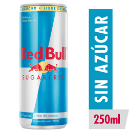 Red Bull Sugarfree Bebida Energetica 250cc