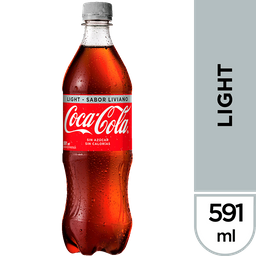Coca Cola Light Bebida 591cc