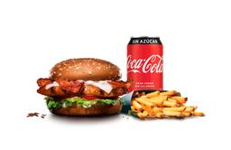 Combo Chicken Club Sándwich