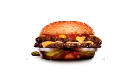 Double Big Cheeseburger