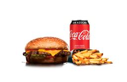 Combo Big Cheeseburger