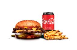 Combo Double Big Cheeseburger