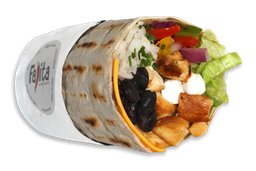 Burrito Heavy (pollo) + Guacamole + Bebida