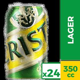 Cerveza Cristal Lata 24Un x 350cc