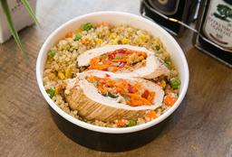 Suprema de Pollo con Quinoa