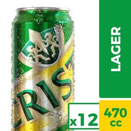 Cerveza Cristal 12-Pack 470 cc Lata