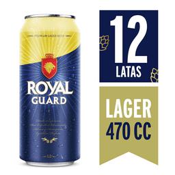 Cerveza Royal Guard 12-Pack 470 cc Lata
