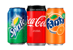 Bebida lata 350 ml