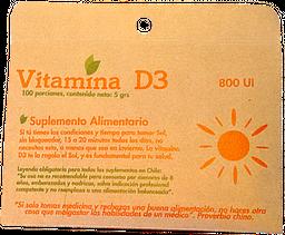 Vitamina D3 5 Grs