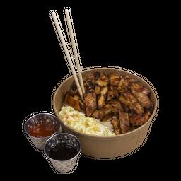 🍚 🌶 Bowl Pollo Spicy Teriyaki + Bebida