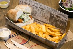 Sándwich de Camarones