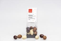 Bolsa 100 grs. huevitos de chocolate de Pascua (12u.
