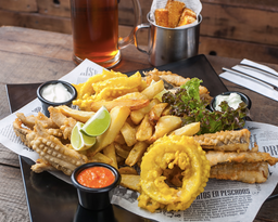 Tabla Fish & Chips (2 personas)