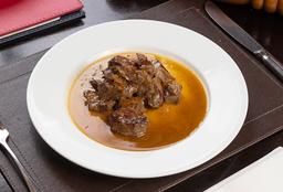 Filete Salteado con Echalotes y Oporto