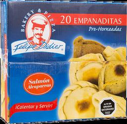 Empanaditas Salmón Alcaparras Masa Integral 20Un