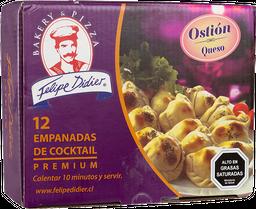 Empanaditas Ostión Queso 12Un