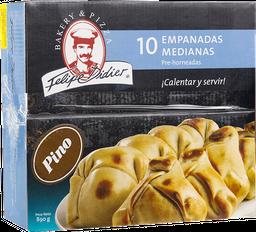 Empanaditas Pino Medianas 10Un
