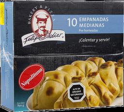 Empanaditas Napolitanas Medianas 10Un
