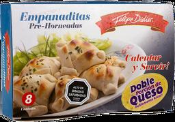 Empanaditas Doble Queso 12Un