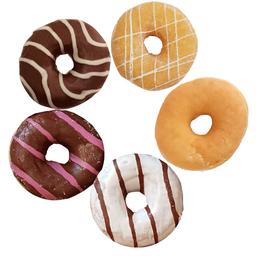 Donuts Rellenas con Chocolate 6 unidades