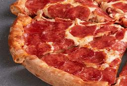 Pizza Súper Pepperoni y Palitos Queso Tocino