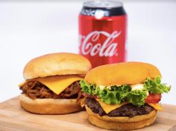 Burger Pork 2+1