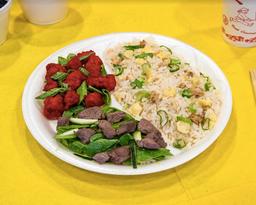 Carne Mongoliana con Cerdo Tamarindo