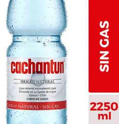 Agua Mineral Cachantun 2.250cc S/G