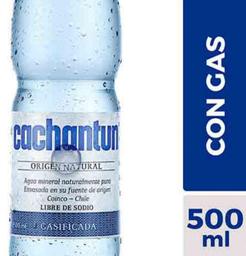 Agua Mineral Cachantun C/G 500cc