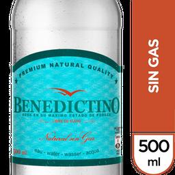 Agua Benedictino Sin Gas Botella 500ml